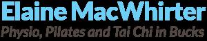 Physio, Pilates and Tai Chi in Bucks Logo
